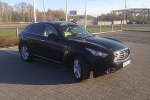 Подержанный автомобиль Infiniti FX-Series, отличное состояние, 2012 года выпуска, цена 2 000 000 руб., Челябинск