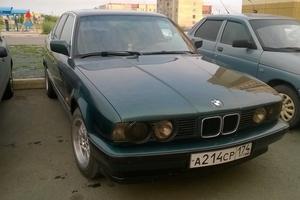 Автомобиль BMW 5 серия, хорошее состояние, 1992 года выпуска, цена 158 000 руб., Южноуральск