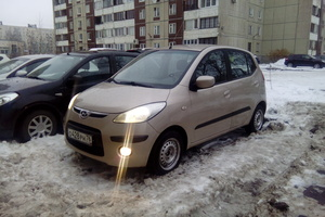 Автомобиль Hyundai i10, отличное состояние, 2008 года выпуска, цена 250 000 руб., Санкт-Петербург