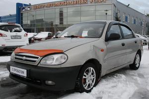 Авто Chevrolet Lanos, 2009 года выпуска, цена 120 000 руб., Санкт-Петербург