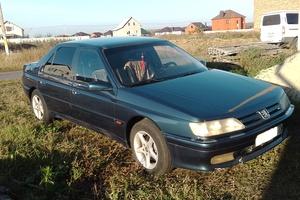 Автомобиль Peugeot 605, среднее состояние, 1996 года выпуска, цена 100 000 руб., Белгород
