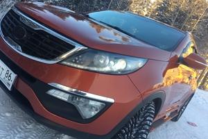 Подержанный автомобиль Kia Sportage, отличное состояние, 2012 года выпуска, цена 1 100 000 руб., ао. Ханты-Мансийский Автономный округ - Югра