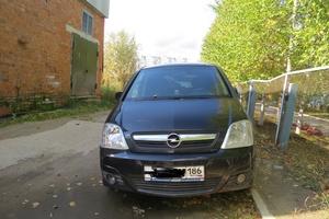 Подержанный автомобиль Opel Meriva, хорошее состояние, 2006 года выпуска, цена 230 000 руб., Нижневартовск