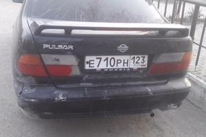 Автомобиль Nissan Pulsar, среднее состояние, 1995 года выпуска, цена 85 000 руб., Новороссийск