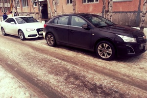 Подержанный автомобиль Chevrolet Cruze, отличное состояние, 2013 года выпуска, цена 550 000 руб., Нижневартовск