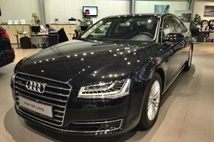 Новый автомобиль Audi A8, 2016 года выпуска, цена 4 650 000 руб., Екатеринбург