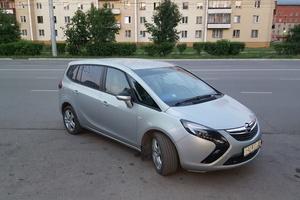 Автомобиль Opel Zafira, отличное состояние, 2013 года выпуска, цена 900 000 руб., Краснодар