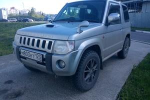 Автомобиль Mitsubishi Pajero Mini, хорошее состояние, 2009 года выпуска, цена 400 000 руб., Краснодар