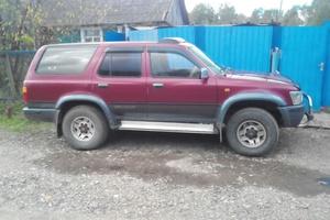 Автомобиль Toyota Hilux Surf, отличное состояние, 1992 года выпуска, цена 350 000 руб., Хабаровский край