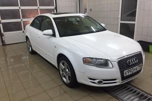 Подержанный автомобиль Audi A4, отличное состояние, 2007 года выпуска, цена 590 000 руб., Луховицы