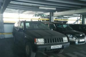 Подержанный автомобиль Jeep Grand Cherokee, хорошее состояние, 1995 года выпуска, цена 180 000 руб., Казань
