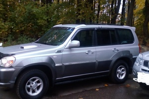 Подержанный автомобиль Hyundai Terracan, хорошее состояние, 2001 года выпуска, цена 420 000 руб., Ивантеевка