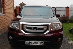 Подержанный автомобиль Honda Pilot, хорошее состояние, 2008 года выпуска, цена 900 000 руб., Наро-Фоминск