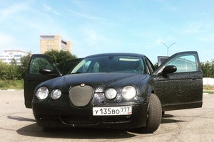 Автомобиль Jaguar S-Type, хорошее состояние, 2005 года выпуска, цена 1 000 000 руб., Москва