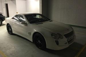 Автомобиль Mercedes-Benz SL-Класс, отличное состояние, 2004 года выпуска, цена 1 400 000 руб., Москва