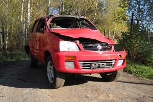Автомобиль Toyota Cami, битый состояние, 1999 года выпуска, цена 25 000 руб., Москва