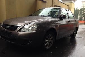 Подержанный автомобиль ВАЗ (Lada) Priora, отличное состояние, 2015 года выпуска, цена 420 000 руб., Пушкино