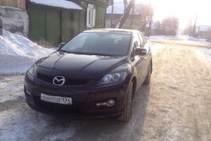 Подержанный автомобиль Mazda CX-7, хорошее состояние, 2008 года выпуска, цена 600 000 руб., Челябинск
