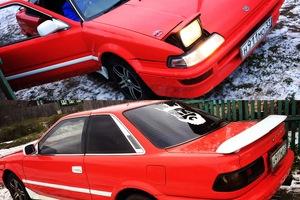 Автомобиль Toyota Sprinter Trueno, хорошее состояние, 1990 года выпуска, цена 150 000 руб., Владимир