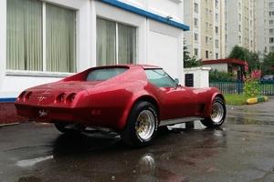 Автомобиль Chevrolet Corvette, отличное состояние, 1974 года выпуска, цена 1 600 000 руб., Москва