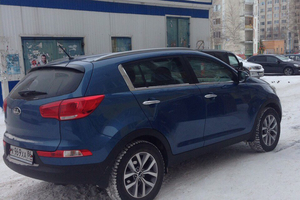 Подержанный автомобиль Kia Sportage, отличное состояние, 2015 года выпуска, цена 1 197 000 руб., Сургут