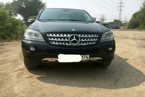 Автомобиль Mercedes-Benz M-Класс, отличное состояние, 2007 года выпуска, цена 1 250 000 руб., Челябинск