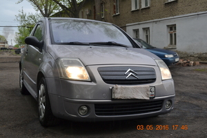 Автомобиль Citroen C2, хорошее состояние, 2005 года выпуска, цена 230 000 руб., Саратов