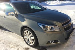 Автомобиль Chevrolet Malibu, отличное состояние, 2012 года выпуска, цена 790 000 руб., Челябинская область