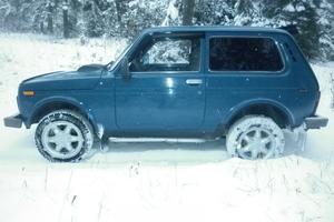Подержанный автомобиль ВАЗ (Lada) 4x4, хорошее состояние, 2007 года выпуска, цена 177 000 руб., Сим