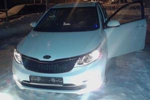 Автомобиль Kia Rio, отличное состояние, 2015 года выпуска, цена 650 000 руб., Нижневартовск