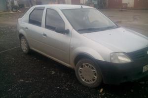 Подержанный автомобиль Renault Logan, хорошее состояние, 2005 года выпуска, цена 175 000 руб., Златоуст