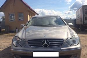 Автомобиль Mercedes-Benz CLK-Класс, хорошее состояние, 2003 года выпуска, цена 420 000 руб., Москва