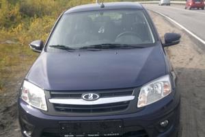Автомобиль ВАЗ (Lada) Granta, отличное состояние, 2015 года выпуска, цена 420 000 руб., Гаджиево