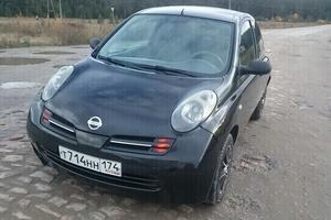 Автомобиль Nissan Micra, среднее состояние, 2003 года выпуска, цена 210 000 руб., Челябинская область