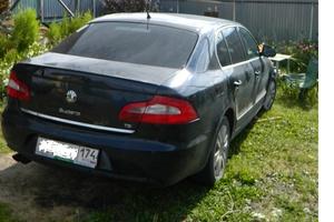 Подержанный автомобиль Skoda Superb, среднее состояние, 2009 года выпуска, цена 410 000 руб., Челябинск