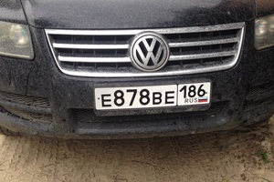 Автомобиль Volkswagen Touareg, хорошее состояние, 2006 года выпуска, цена 680 000 руб., Сургут