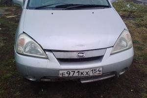 Автомобиль Suzuki Aerio, хорошее состояние, 2001 года выпуска, цена 200 000 руб., Белово