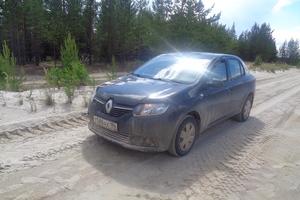 Подержанный автомобиль Renault Logan, хорошее состояние, 2014 года выпуска, цена 380 000 руб., Советский
