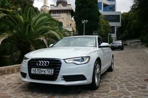 Подержанный автомобиль Audi A6, хорошее состояние, 2012 года выпуска, цена 1 180 000 руб., Краснодар