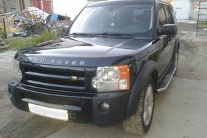 Подержанный автомобиль Land Rover Discovery, хорошее состояние, 2006 года выпуска, цена 900 000 руб., Сургут