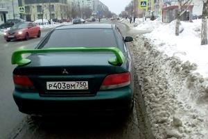 Подержанный автомобиль Mitsubishi Galant, среднее состояние, 1997 года выпуска, цена 160 008 руб., Электросталь