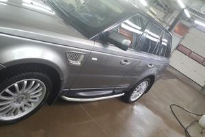 Автомобиль Land Rover Range Rover Sport, хорошее состояние, 2007 года выпуска, цена 900 000 руб., Казань