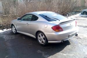 Автомобиль Hyundai Coupe, хорошее состояние, 2001 года выпуска, цена 290 000 руб., Алексин
