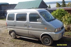 Автомобиль Suzuki Every, среднее состояние, 1999 года выпуска, цена 170 000 руб., Полевской