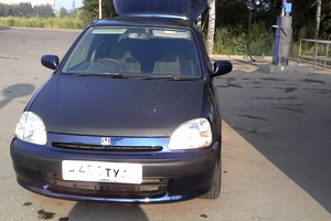 Автомобиль Honda Logo, хорошее состояние, 1998 года выпуска, цена 80 000 руб., Липецк