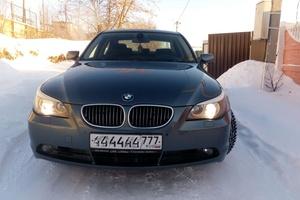Автомобиль BMW 5 серия, отличное состояние, 2006 года выпуска, цена 600 000 руб., Сафоново