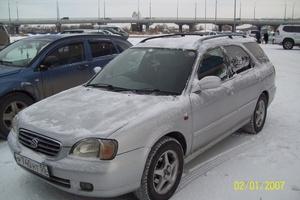 Автомобиль Suzuki Cultus, отличное состояние, 2000 года выпуска, цена 175 000 руб., Омск