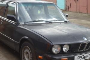 Подержанный автомобиль BMW 5 серия, хорошее состояние, 1987 года выпуска, цена 55 000 руб., Дрезна
