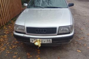 Автомобиль Audi 100, хорошее состояние, 1991 года выпуска, цена 110 000 руб., Екатеринбург