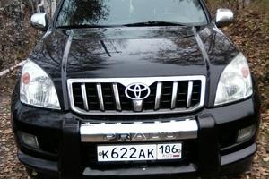Подержанный автомобиль Toyota Land Cruiser Prado, хорошее состояние, 2008 года выпуска, цена 1 260 000 руб., Нижневартовск